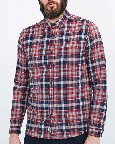 Check Plus Flannel Shirt