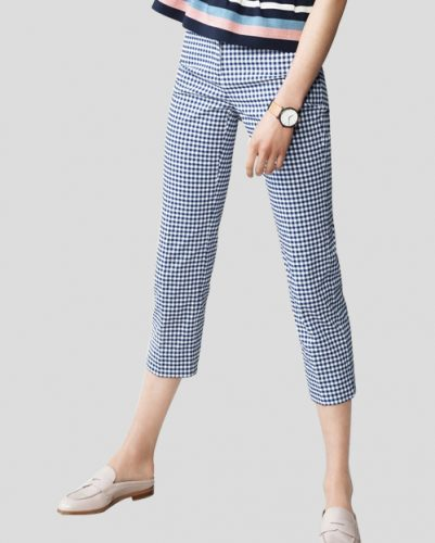 Checkered Cool Capris for Women
