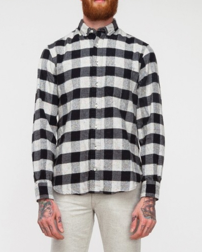 Cinder Blocks Designer Flannel Shirt