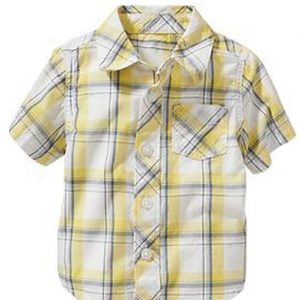 Citrus Yellow Baby Shirt