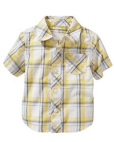 Citrus Yellow Baby Shirt