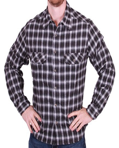 Classic Color Field and Stream Flannel Shirts