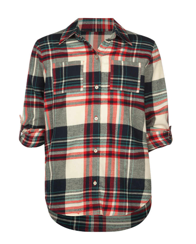 Coco Brown Girls' Cool Flannel Shirt