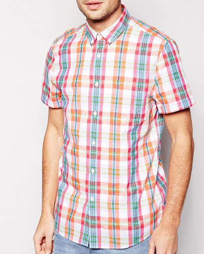 Colorful Happy Checked Flannel Shirts
