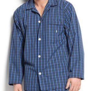 Comfy Blue Men's Night Shirt