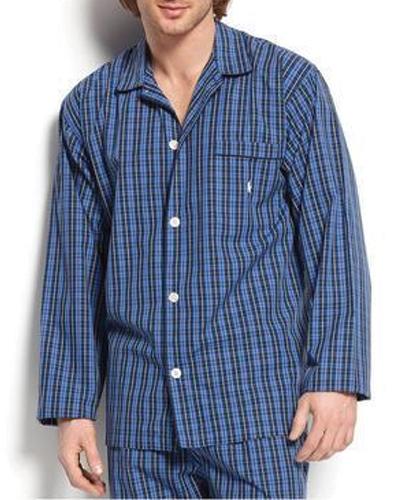 Comfy Blue Men's Night Shirt
