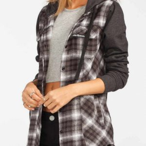 Constance Long Sleeve Flannel Shirt