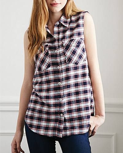 Contemporary Cool Flannel Shirt