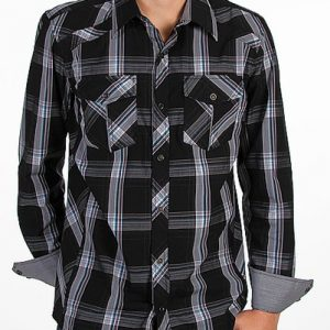 Cool Black Checked Club Shirt