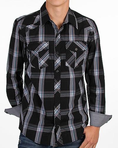 Cool Black Checked Club Shirt