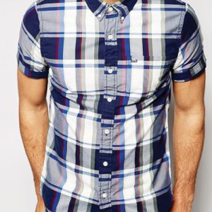 Cool Blue Check Flannel Shirt