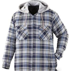 Cool Blue Hooded Jacket