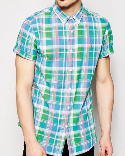 Cool Summery Checked Flannel Shirt