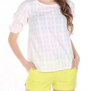 Cool White Day Top