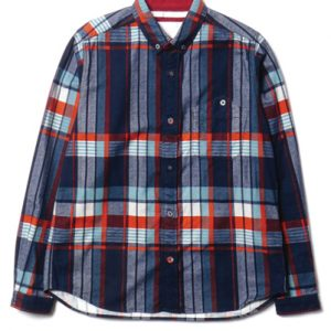 Crazy Checks In Royal Blue for Men