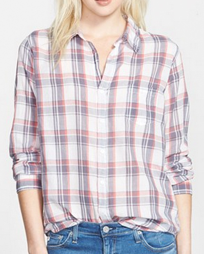 Cream Classic Cool Flannel Shirt