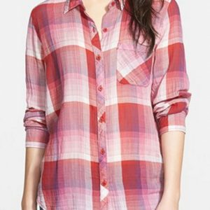 Crimson Chaos Cool Flannel Shirt