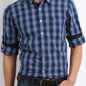 Daring Darcy Blue Flannel Shirt