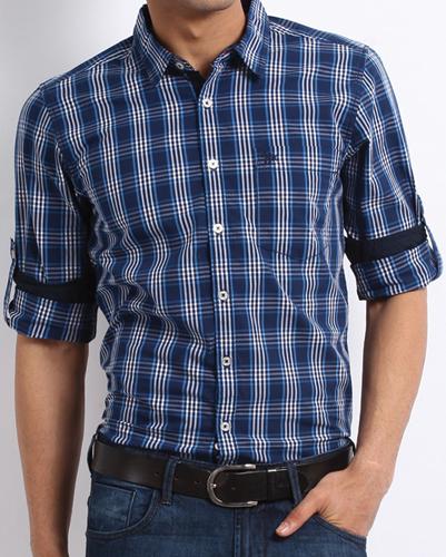 Daring Darcy Blue Flannel Shirt