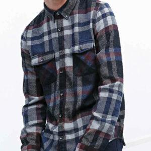 Dark Plaid Cool Flannel Shirt