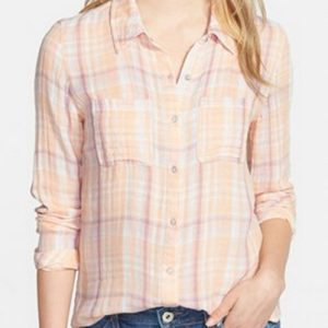 Dream Cream Cool Flannel Shirt