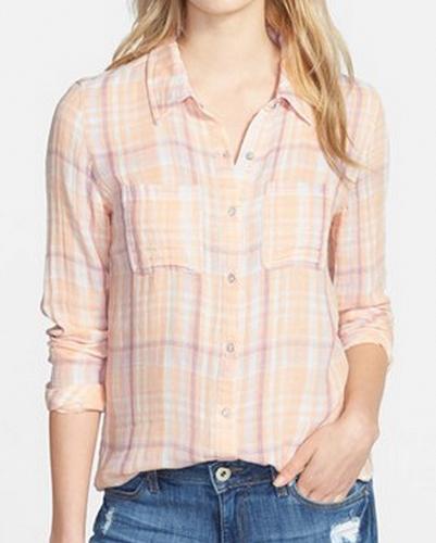 Dream Cream Cool Flannel Shirt