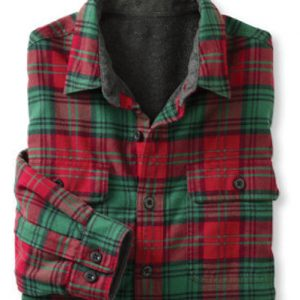 Dreamy Red and Green Checked Shirt