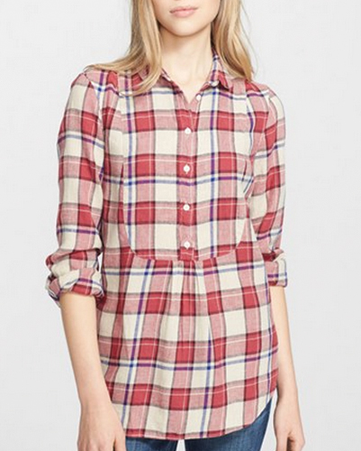 Dress Styled Cool Flannel Shirt