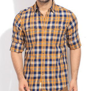 Earthy Feel Vegetable Flannel Shirt