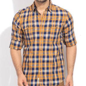 Earthy Feel Vegetable Flannel Shirt