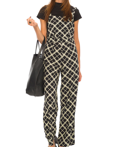 Eye Catcher Smart Fannel Jumpsuit