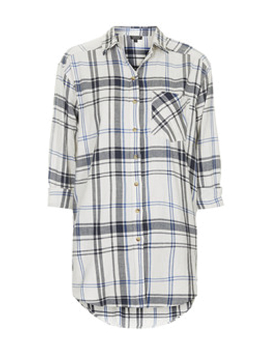 Fine Plaid Girls' Flannel Shirts