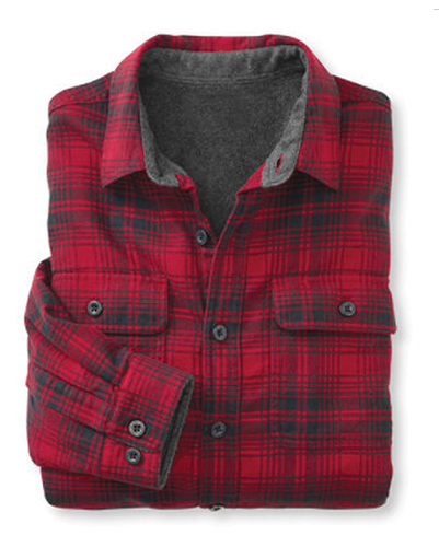 Firebrand Red and Grey Shirt