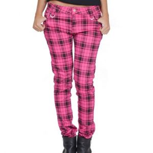 Flash Of Pink Flannel Pants