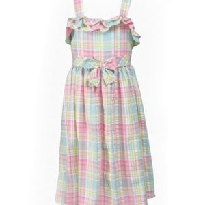 Fondue Fonda Flannel Check Dress