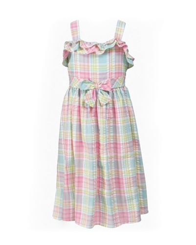 Fondue Fonda Flannel Check Dress