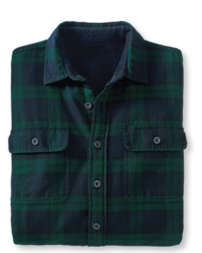 Frozen Blue and Green Check Shirt