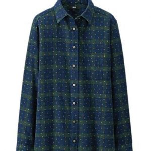 Galaxy Blue Flannel Shirt Suppliers