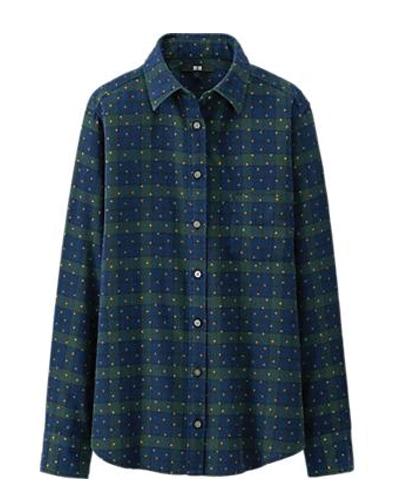 Galaxy Blue Flannel Shirt Suppliers