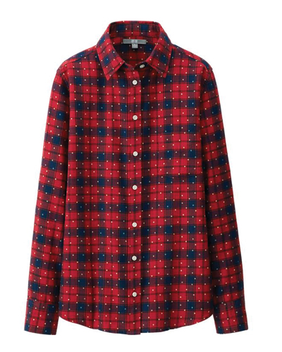 Galaxy Red Flannel Shirt Suppliers
