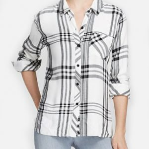 Glam White Tartan Checked Shirt for Ladies Manufacturers USA Glam White Tartan Checked Shirt for Ladies Manufacturers USA Glam White Tartan Checked Shirt for Ladies