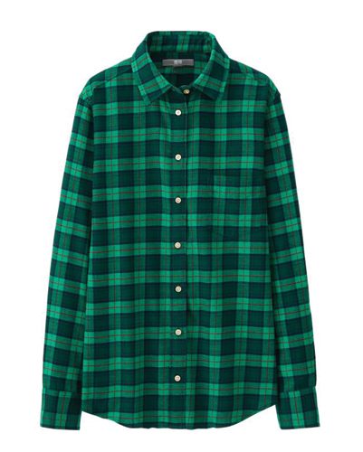 Green Apple Dressy Flannel Shirt Suppliers
