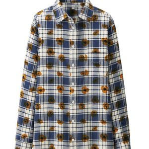 Grey Bash Floriana Flannel Shirt Suppliers