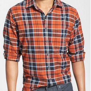Grey Grid Cool Flannel Shirt