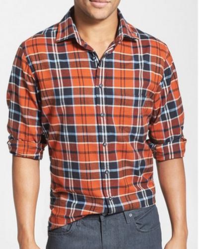Grey Grid Cool Flannel Shirt