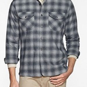 Grey Toned Wool flannel Shirts suppliers