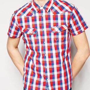 Half Sleeve Cool Flannel Shirt