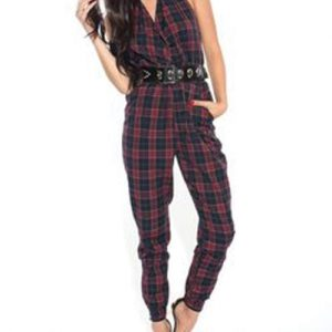 Halter Neck Diva Jumpsuit