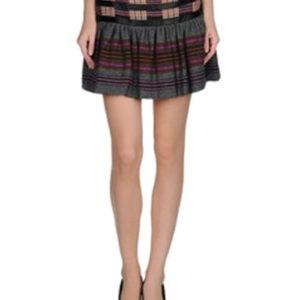 High Flying Stream Flannel Skirt