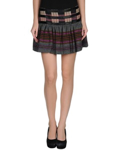 High Flying Stream Flannel Skirt